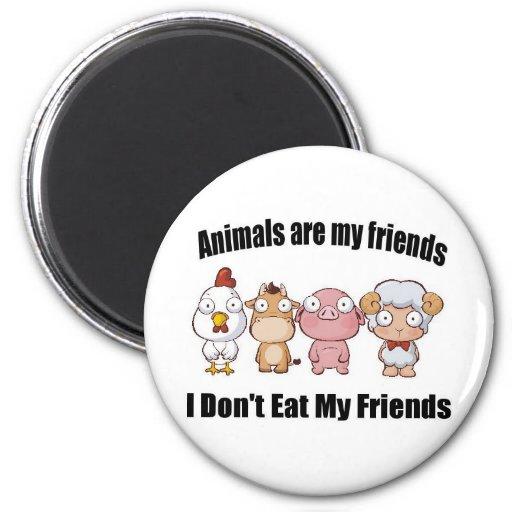 Los animales son mis amigos iman