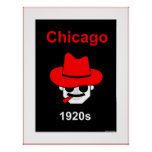 Los años 20 de Chicago - passepartout Impresiones