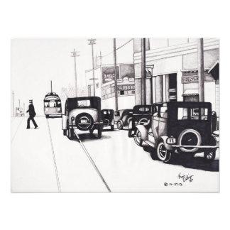 Los años 20 de Hollywood (impresión de la foto)