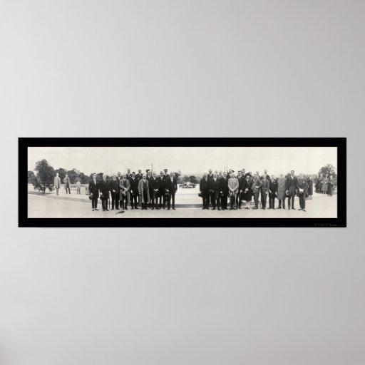 Los años 20 de la foto de la tumba del soldado des póster
