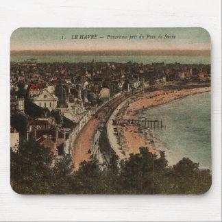 Los años 20 de la postal de Francia del panorama Alfombrilla De Ratón