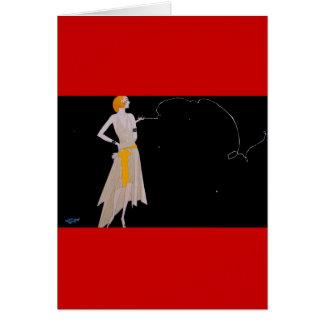Los años 20 del rugido tarjeta de felicitación