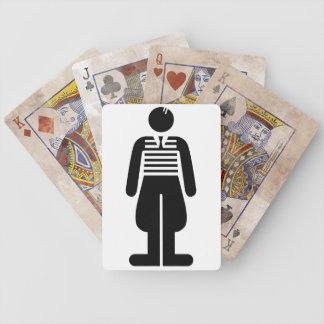 Los años 20 del rugido - varón baraja de cartas