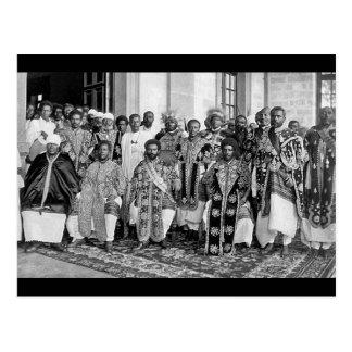 Los años 20 etíopes de los derechos - 1930 postal