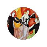 los años 20 que bailan pares relojes