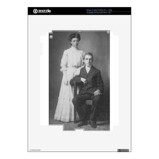 los años 20 que casan la imagen calcomanías para el iPad 2
