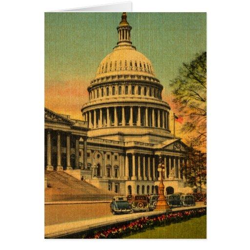 los años 20 Washington, DC Tarjeta Pequeña