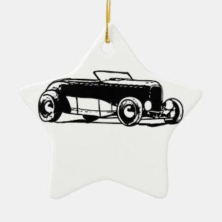 los años 30 Hotrod Ornamento De Navidad