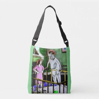 los años 40 miman y su bebé gigante bolsa cruzada