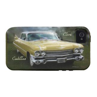 los años 50 Cadillac iPhone 4 Carcasas