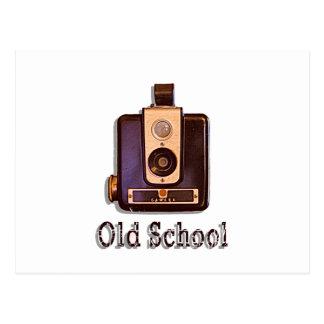 Los años 50 clásicos de la cámara de caja - postal