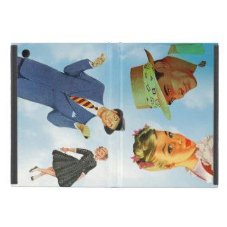 Los años 50 del vintage populares en un cielo azul iPad mini cobertura