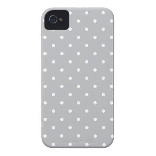 Los años 50 diseñan la caja gris de Iphone 4/4S de iPhone 4 Case-Mate Protector