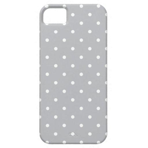 Los años 50 diseñan la caja gris del iPhone 5/5S d iPhone 5 Case-Mate Cárcasa