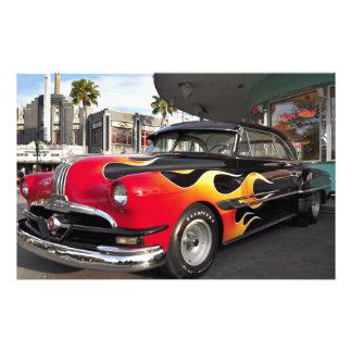 ¡los años 50 Hotrod! Papeleria De Diseño
