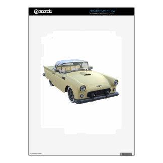 Los años 50 poner crema SportsCar Skin Para El iPad 2