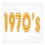 los años 70 en fuente del estilo de los años 70 comunicados