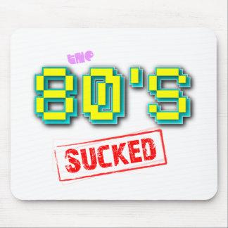 Los años 80 chuparon el chiste divertido Mousepad  Alfombrilla De Ratón
