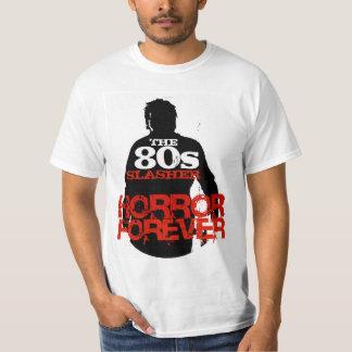 Los años 80 Slasher Playera