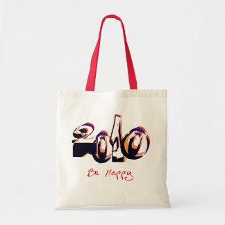 Los Años Nuevos 2010 sean bolso feliz Bolsa Tela Barata