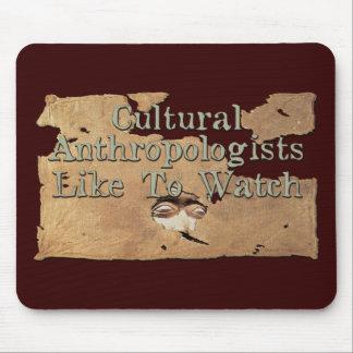 Los antropólogos culturales tienen gusto de mirar mousepads