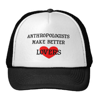 Los antropólogos hacen a mejores amantes gorros bordados