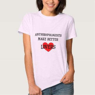 Los antropólogos hacen a mejores amantes poleras