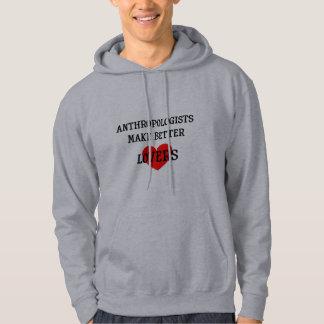 Los antropólogos hacen a mejores amantes suéter con capucha
