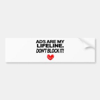 Los anuncios son cuerdas de salvamento