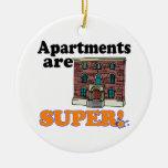 los apartamentos son estupendos adorno