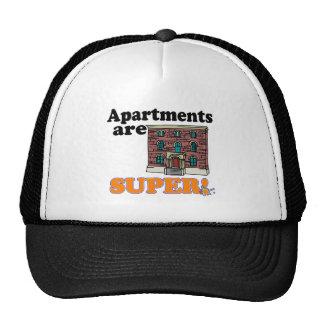 los apartamentos son estupendos gorros bordados
