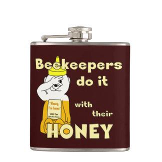 Los apicultores lo hacen con su MIEL - frasco Petaca