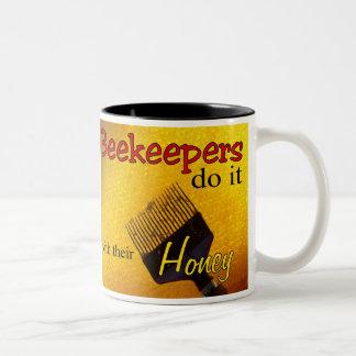 Los apicultores lo hacen con su miel - taza