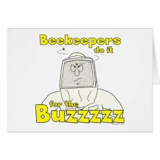Los apicultores lo hacen para el Buzzzzz - tarjeta