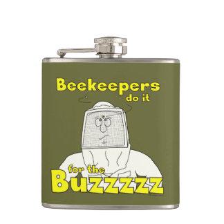 Los apicultores lo hacen para el frasco de Buzzzzz Petaca