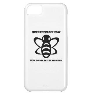 Los apicultores saben a la abeja en el momento (la funda para iPhone 5C