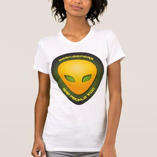 Los apicultores son gente también camisetas