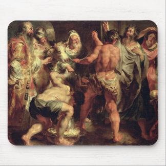 Los apóstoles, San Pablo y el St. Barnabas en Lyst Alfombrilla De Ratones