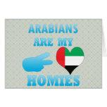 los árabes son mi Homies Felicitación