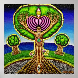Los árboles consiguieron alma posters
