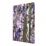 Los árboles de abedul, bella arte estiraron impresiones en lienzo estiradas