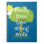 Los árboles de familia tienen raíces fuertes cuadernos