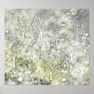 Los árboles de la mamá poster
