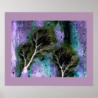 Los árboles del sector 7 póster