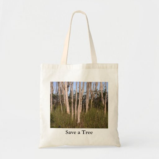 Los árboles en los marismas, ahorran un árbol bolsas de mano