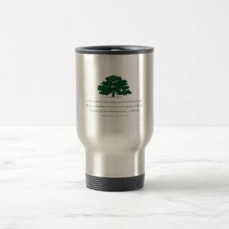 Los árboles no se pueden ahorrar de tontos taza térmica