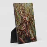 """Los """"árboles son la respuesta """" placas de madera"""