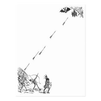 Los Archers del brownie Pester palos Postales