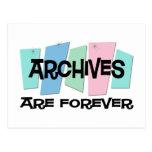Los archivos son Forever Tarjetas Postales