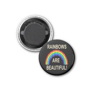 Los arco iris del imán son hermosos
